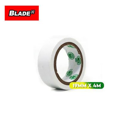 Picture of Croco Tape Flame Retardant PVC Electrical Insulating Tape 19mm x 4m (White)