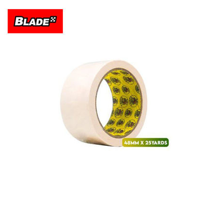 Picture of Croco Tape Masking Tape 48mm x 25yards (Beige) General Purpose for Home and Office use