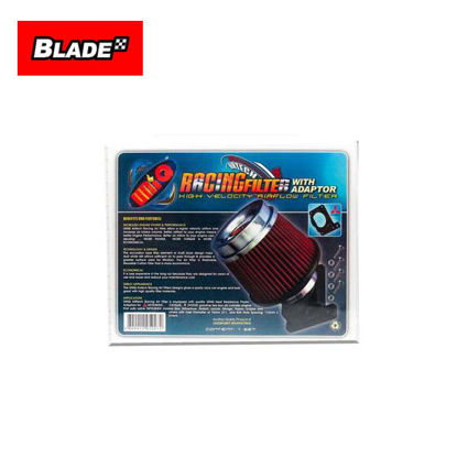 Picture of Uniq Racing Filter with Adaptor for Mitsubishi (Red)