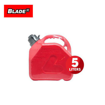 Picture of Deflector Fuel Tank with Anti-Child and Safety Nozzle DFT-1305-R 5L (Red)