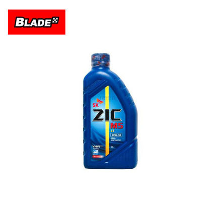 Picture of SK ZIC M5 4T 20W-50 Semi-Synthetic 1 Liter