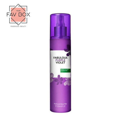 Picture of United Colors Of Benetton Fabulous Purple Violet Perfumed Body Mist 236ml