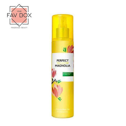 Picture of United Colors Of Benetton Perfect Yellow Magnolia Perfumed Body Mist 236ml