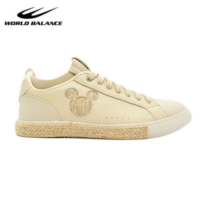 Picture of World Balance Mickey X Habi L for Women - Biege