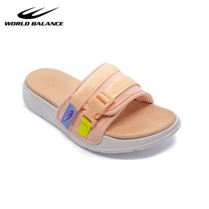 Picture of World Balance Slidefoam L for Women Blush-Pink