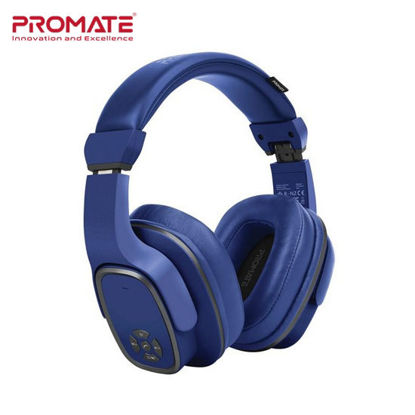 Picture of Promate Corvin 2-in-1 High Definition Wireless Headphone With Speaker Blue