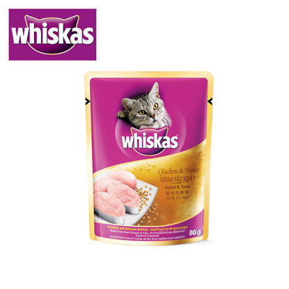 Picture of Whiskas Chicken and Tuna 80g