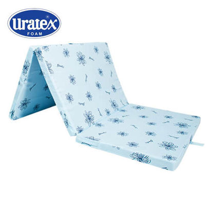 Picture of Fold-A-Mattress with Polycotton (Blue)