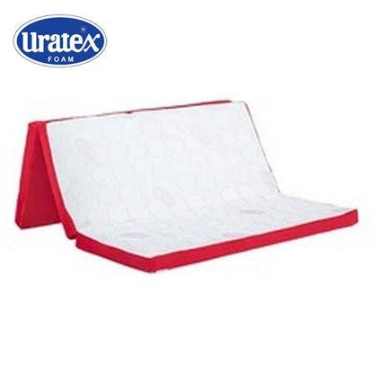 Picture of Uratex Airlite Futon (White/Red)