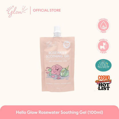 Picture of Hello Glow Rose Water Soothing Gel 100mL