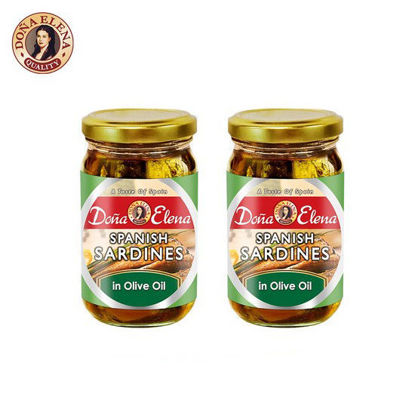 Picture of Doña Elena Spanish Sardines in Olive Oil 228g x 2