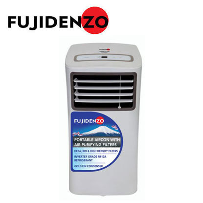 Picture of Fujidenzo 1.0 Hp Portable Aircon with Air Purifying Filters PAC100AIG