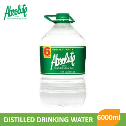 Picture of Absolute Distilled Drinking Water 6000ml - 007190