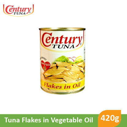 Picture of Century Tuna Flakes in Vegetable Oil 420g 010459