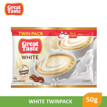Picture of Great Taste White Twin Pack 50g - 092409