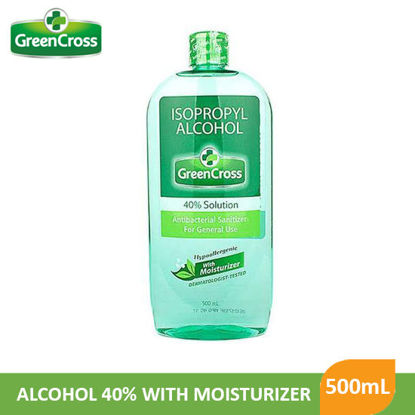 Picture of Greencross Alcohol 40%With Moisturizer 500mL - 009879