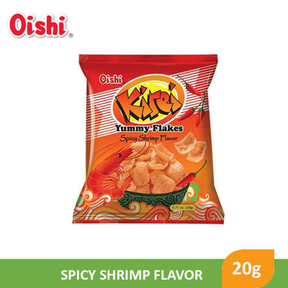 Picture of Oishi Kirei Yummy Flakes Spicy Shrimp Flavor 20g - 093860
