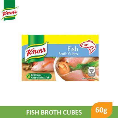 Picture of Knorr Cubes Fish 60g - 045325