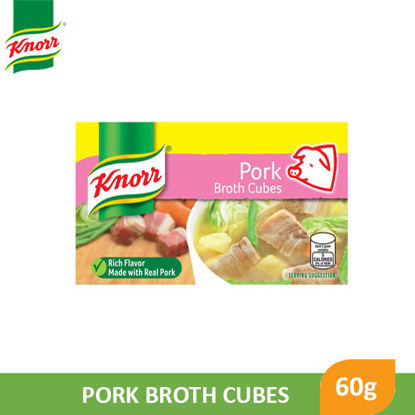 Picture of Knorr Cubes Pork 60g - 045317