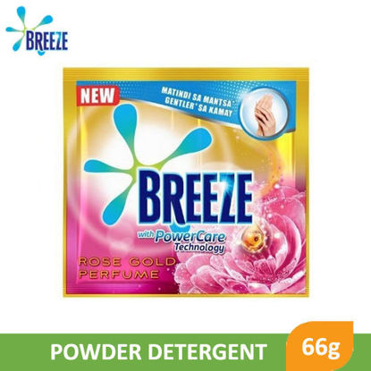 Picture of Breeze Powder Detergent Rose Gold Perfume 66g -  089781