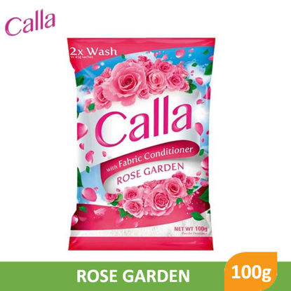 Picture of Calla Powder with Fabric Conditioner Rose Garden 100g - 79691