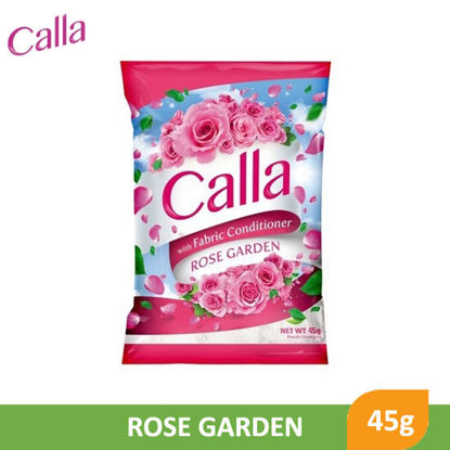 Picture of Calla Powder with Fabric Conditioner Rose Garden 45g - 079690