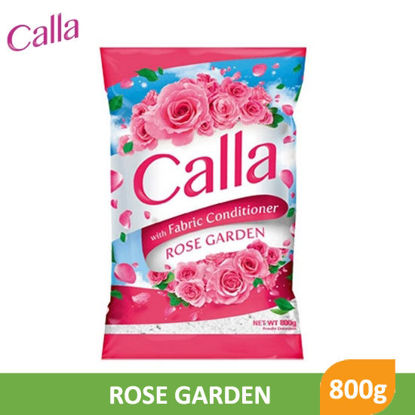 Picture of Calla Powder with Fabric Conditioner Rose Garden 800g - 079692