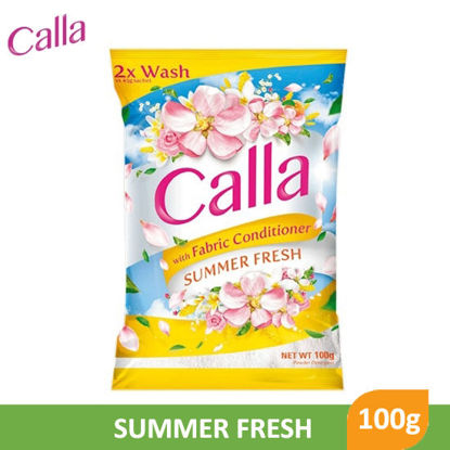 Picture of Calla Powder with Fabric Conditioner Summer Fresh 100g - 079689