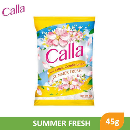 Picture of Calla Powder with Fabric Conditioner Summer Fresh 45g - 079688