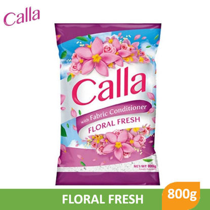 Picture of Calla Powder with Fabric Conditioner Floral Fresh 800g - 079015