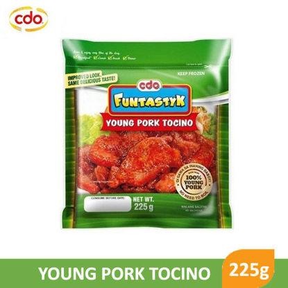 Picture of CDO Funtastyk Young Pork Tocino 225g - 049224