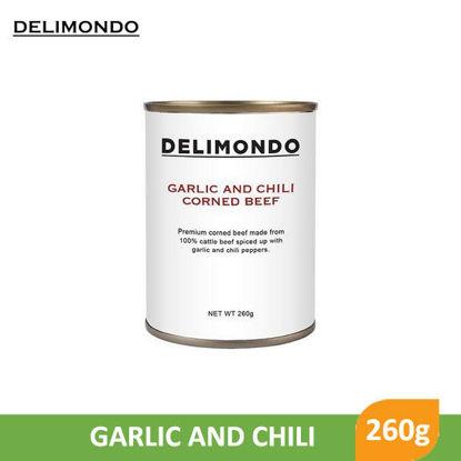 Picture of Delimondo Garlic and Chili Corned Beef 260g -  080435