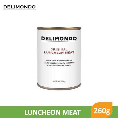 Picture of Delimondo Original Luncheon Meat 260g -  080437