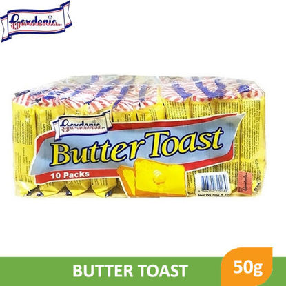 Picture of Gardenia Butter Toast 2 Slices 50g x 10's -  012017