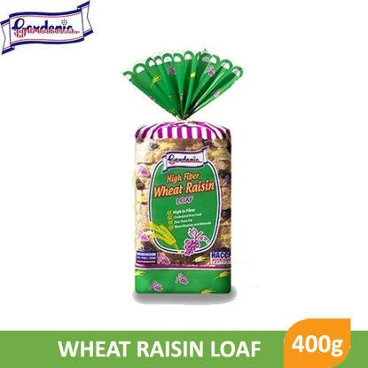 Picture of Gardenia High Fiber Wheat Raisin Loaf 400g -  060443