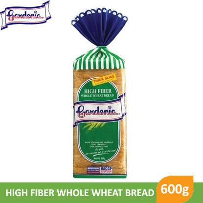 Picture of Gardenia High Fiber Whole Wheat Bread 600g -  012020