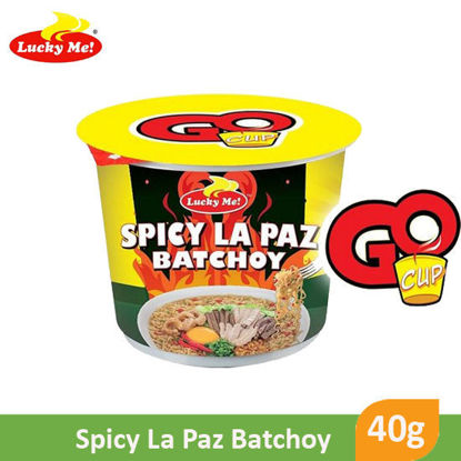 Picture of Lucky Me! Go Cup Spicy La Paz Batchoy Mini  40g -  086797