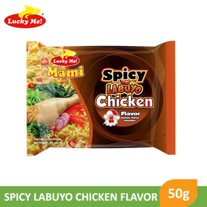 Picture of Lucky Me Instant Mami Spicy Labuyo Chicken 50g -  081562