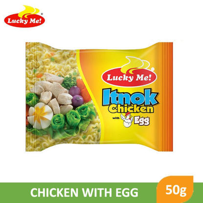 Picture of Lucky Me Instant Mami Itnok Chicken With Egg Flavor 50g -  007465