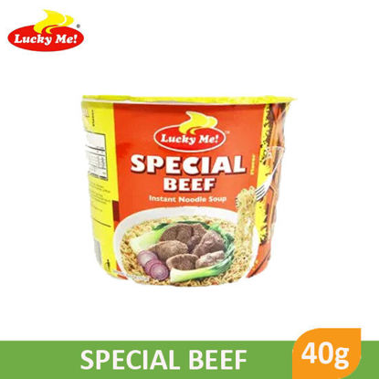 Picture of Lucky Me! Supreme Special Beef Mini 40g 014828