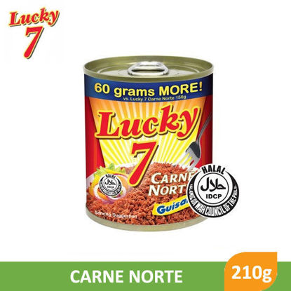 Picture of Lucky 7 Carne Norte 210g -  098099