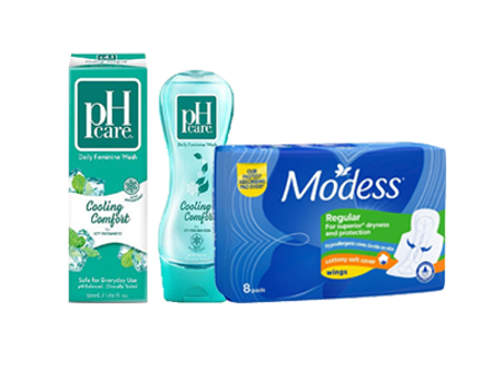 Picture for category Sanitary Pads & Feminine Wash