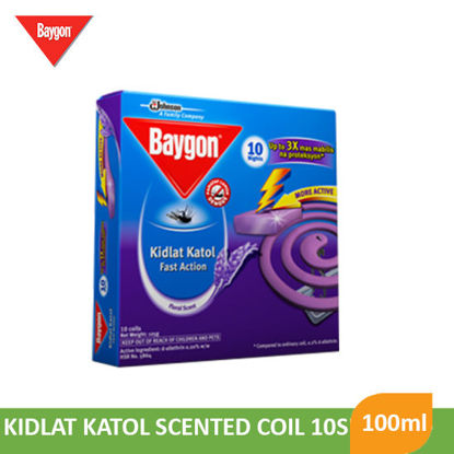 Picture of Baygon Kidlat Katol Scented Coil 10S - 069488