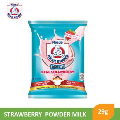 Picture of Bear Brand Strawberry Powder Milk 29g - 097369