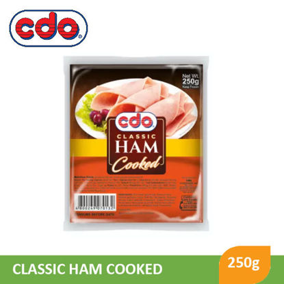 Picture of Cdo Regular Cooked Ham 250G - 012216