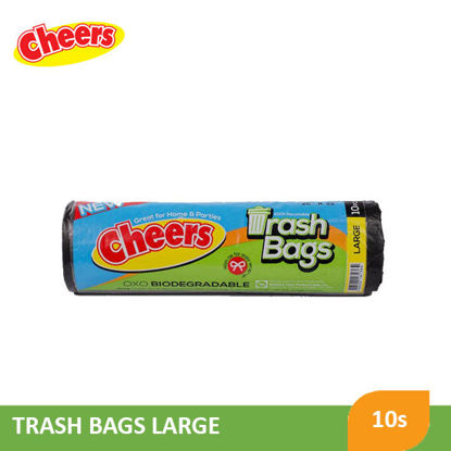 Picture of Cheers Trash Bag Black Large - 078720