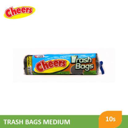 Picture of Cheers Trash Bag Black Medium - 078719