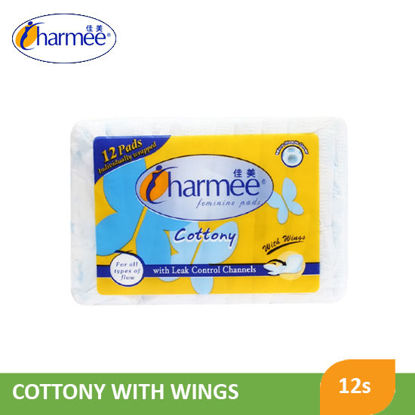 Picture of Charmee Af With Wings Feminine Pads12S - 050190