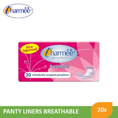 Picture of Charmee Breathable Pantyliner Unsnt 20S - 035519