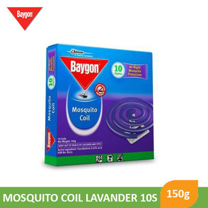 Picture of Baygon Coil Lavender Jumbo 10S - 089364